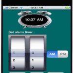 Alarm Stop Watch, Programar alarmas en nuestro Ipad