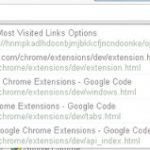 Ver las paginas mas visitadas en Chrome (extension)