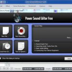 Grabar, editar y mezcar audio con Power Sound Editor Free