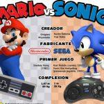 Mario vs Sonic ¿cual es mejor? (infografia)