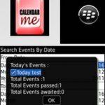 Agenda para Blackberry: CALENDAR ME