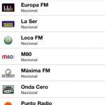 Escuchar radio en iphone con FM Online