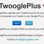 Actualizar Google plus y Twitter el mismo tiempo con twoogleplus