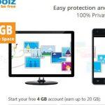 zoolz: 4GB para almacenamiento en la nube gratis