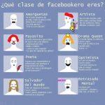 Tipos de usuarios en Facebook (infografia)
