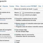 Entrar a la configuracion en Gmail