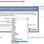 Cómo activar las notificaciones de mensajes de facebook al celular