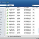 Recuperar archivos borrados con Wise Data Recovery