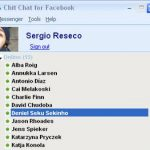 Entrar al chat de Facebook desde el escritorio con Chit Chat for Facebook