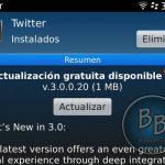 Ya se puede descargar Twitter 3.0 para BlackBerry