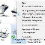 Cómo cambiar de impresora predeterminada
