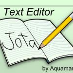 Jota Text Editor, editor de texto para Android