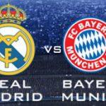 Partido del Real Madrid vs Bayern en vivo