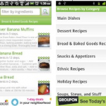 Recipe Search, Buscar recetas de cocina para Android