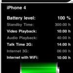 BatteryTime, Ver estado de la batería para iPad