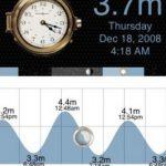 World tides 2012, Pronósticos de mareas mundiales para iPad