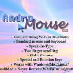 AndroMouse, Utiliza tu android de ratón para Android