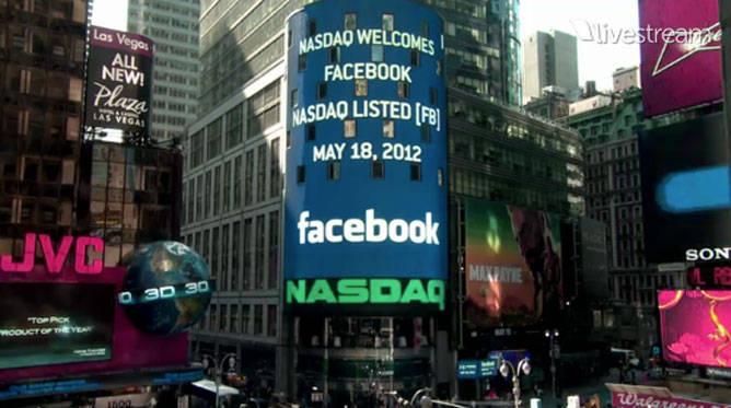 IPO para Facebook