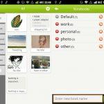 GNotes, Notas sincronizadas con Gmail para Android