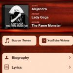 MusicID with Lyrics, Encontrar nombre de canciones para iPad