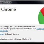¿Cómo saber cuál es la versión de Chrome que tengo?