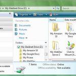 Cargar archivos a Google drive con Gladinet