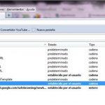 ¿Cómo quitar arccosine.com como motor de búsqueda en Firefox?