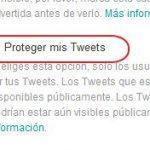 Cómo poner la cuenta de Twitter en privado
