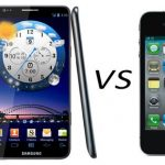 iphone 4S vs Samsung galaxy S3 – Comparacion