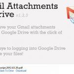 Guardar los archivos adjuntos de Gmail en Google Drive