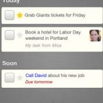 Orchestra to-do, Crear listas de voz para iPad