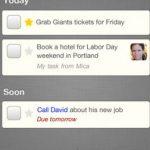 Orchestra to-do, Crear listas de voz para iPad