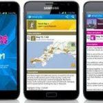 London 2012 Join In App, Aplicación sobre Londres para Android