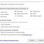 Como sincronizar las pestañas en Chrome
