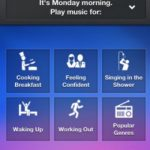 Songza, Escuchar streaming de audio gratis para iPad