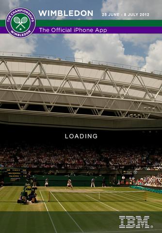 Wimbledon 2012 para iphone, ipad