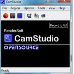 Camstudio, grabar lo que se hace el escritorio de Windows