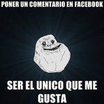 Meme: nadie pone me gusta solo yo para Facebook