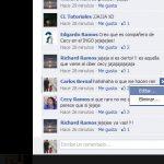 Como editar un comentario en Facebook