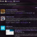 Agregarle transparencia a Facebook con Dark Shiny Purple