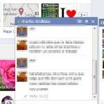Como saber si han visto un mensaje en el chat de Facebook