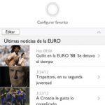 Aplicación de la Eurocopa 2012 para iOS: iphone y ipad