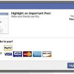 Ser popular en Facebook con highlight o historias de pago