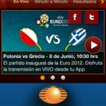 Ver los partidos en vivo de la euro 2012 desde el iphone