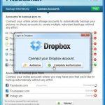 Guardar las fotos de Facebook a Dropbox con PickBackMan