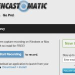 screencast-o-matic.com: grabar el escritorio y enviarlo a youtube