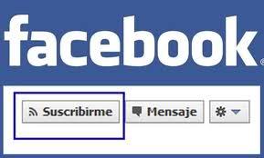 suscripciones Facebook