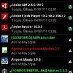 Hacer una copia de respaldo de las aplicaciones en Android con Titanium Backup