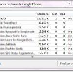 Cómo saber cual pestaña consume mas recursos en Chrome