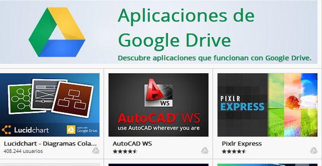 apps para Google Drive